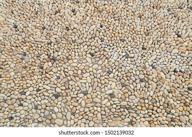 Cobble stone floor texture background