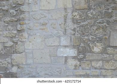 cobble stone wall - cold