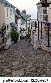 Cobbled street of Clovelly