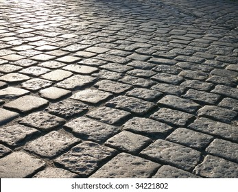 Cobblestone background. More of this motif & more textures in my port.