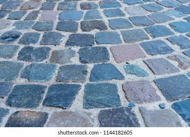 cobblestone pattern structure