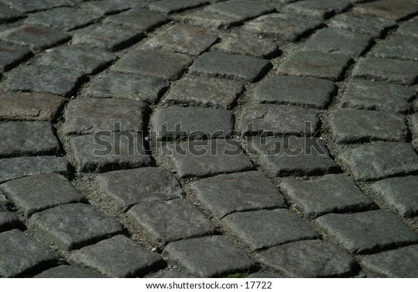 A cobblestone texture image.