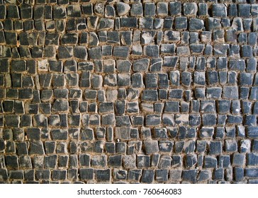 Cobblestone texture (setts texture), can be used as background  image..