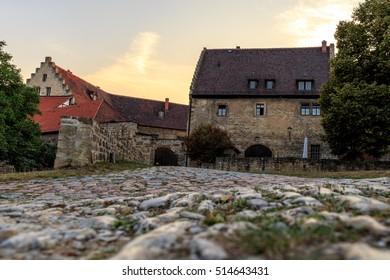 Cobblestones at Neuenburg