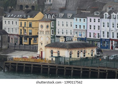 Cobh, Ireland, April 9th 2019: Old Town Hall in Cobh in Ireland