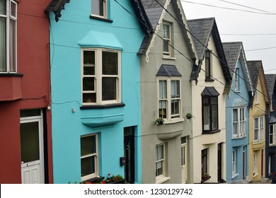 Cobh, Ireland, colorful Ireland houses