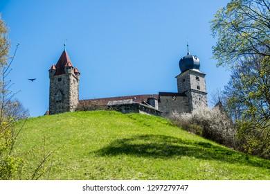 Coburg castle in Bavaria Germany