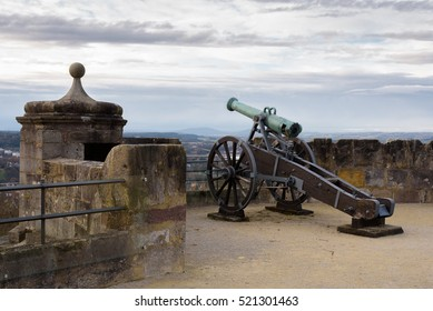 COBURG, GERMANY. Cannon to protect the fortress