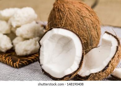 cocada,(coconut sweet) a  typical Brazilian sweet.