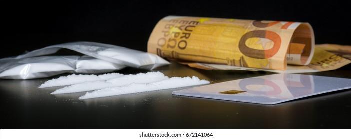 Cocaine as an illegal drug