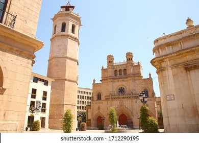The Co-cathedral of Saint Mary or Maria is the cathedral of Castellon de la Plana, located in the comarca of Plana Alta, in the Valencian Community, Spain.