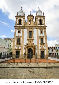 Co-cathedral of St. Peter of Clerics, 18th century church in the historic center of Recife, Brazil