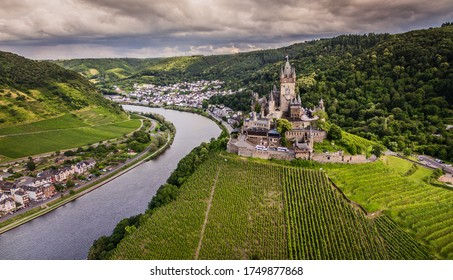 Cochem Castle Germany Moselle River