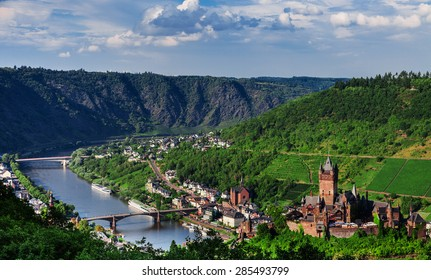 Cochem on the Moselle in Germany