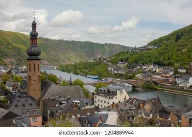 Cochem, Rheinland-Pfalz near the moselle
