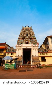 COCHIN, INDIA - MARCH 15, 2012: Murugan Temple is a part of Ernakulam Shiva Temple, one of the major temples of Kerala located in Cochin city, India