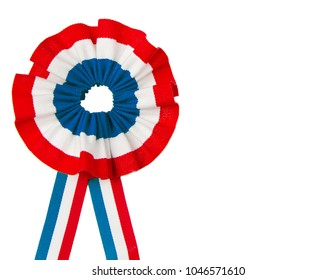 cockade  with france flag color