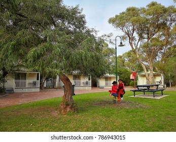 Caravan Park Australia Stock Photos, Images & Photography