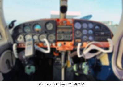 Cockpit Background Blur
