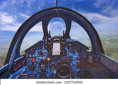 Cockpit of Flight Simulator - Mig 21