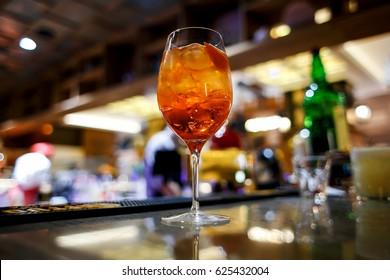 Cocktail aperol