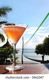 cocktail beach volleyball