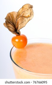 Cocktail with Physalis