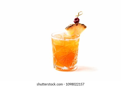 cocktail with pineapple juice