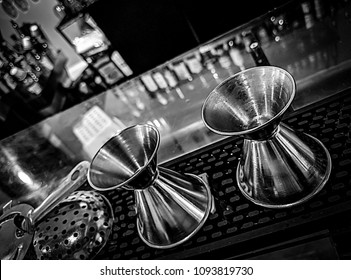 Cocktail Preparation At The BAr