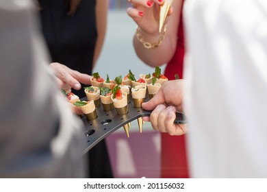 cocktail at a wedding