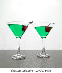 cocktails in precarious balance