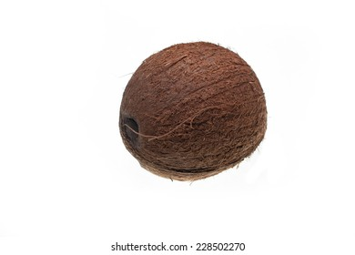 coco, coconut, asia, exotic, fruit, diet, health, tropical, food, fresh, nut, white, isolated