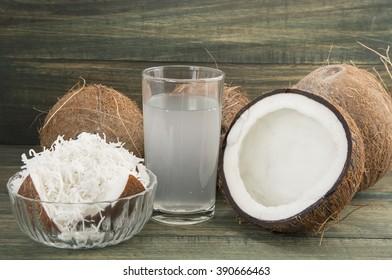 Coco delicious tropical fruit