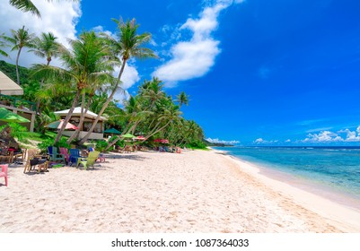 Coco Palm Garden Beach in Guam