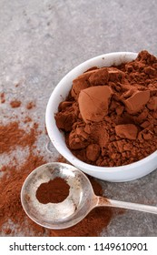 coco powder in dish