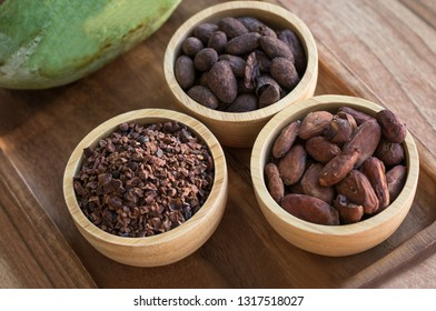 Cocoa beans and Cocoa Nibs