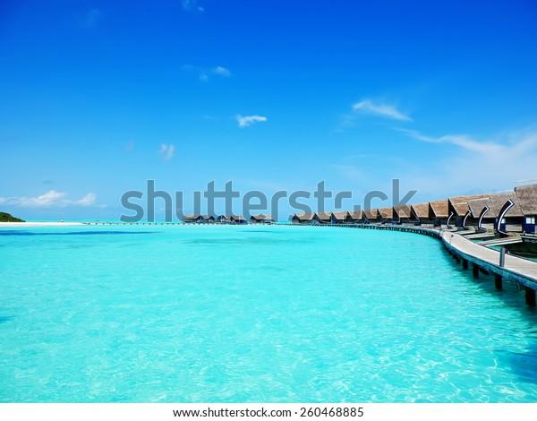 Cocoa Island Hotel Maldives Stock Photo Edit Now 260468885