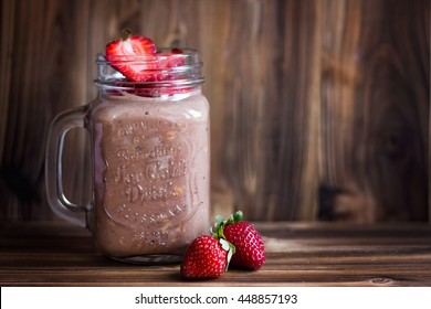 Cocoa oatmeal smoothie