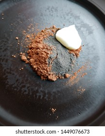 cocoa powder with clay and yoghurt - natural skin care