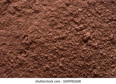 cocoa powder texture background macro