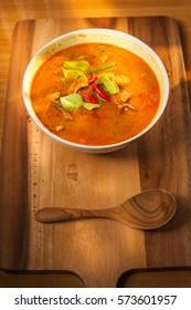 coconut Curry pork