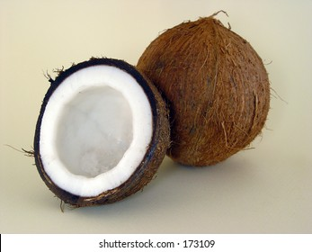 coconut and half