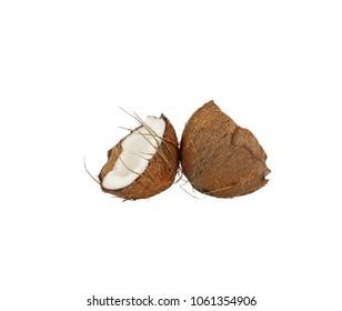 Coconut half double
