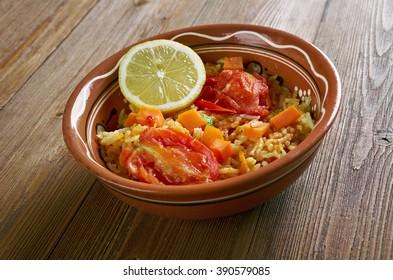 Coconut Jollof Rice.African Rice