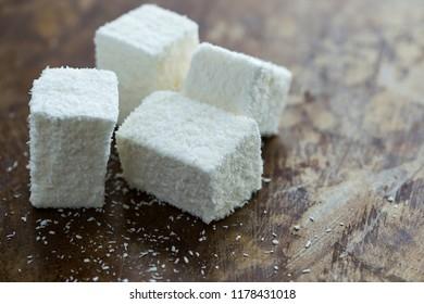 Coconut marshmallows fresh