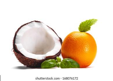 Coconut with Orange