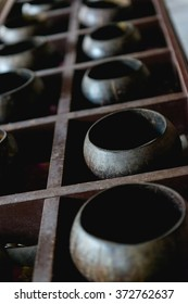 Coconut shells for coins , Beliefs of Buddhism