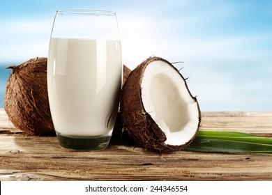 coconuts milk space