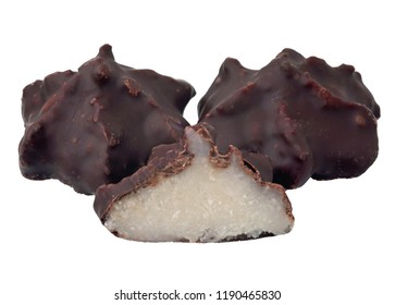 Cocunut flakes with chocolates