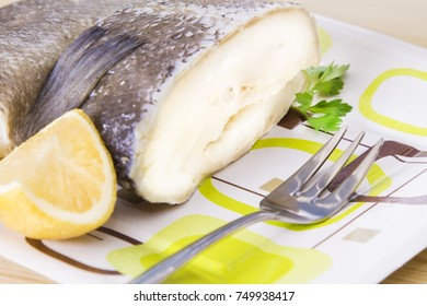 cod dish with parsley and lemon
